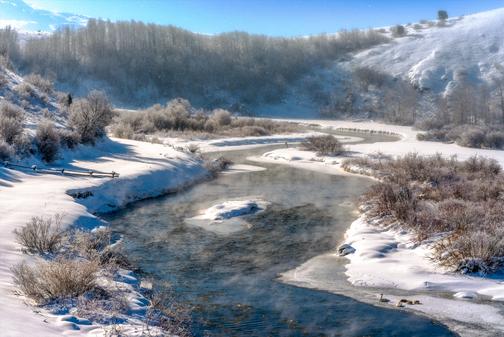 """Winter Creek"""