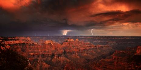 """Canyon Storm"""