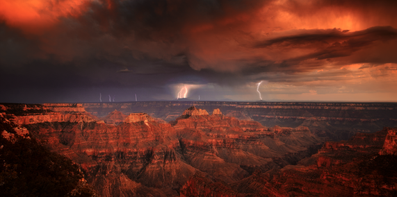 """Canyon Storm"""
