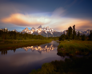 """Dawn at Schwabacher"""