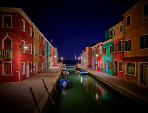 """""""Into the Blue on Burano"""""""