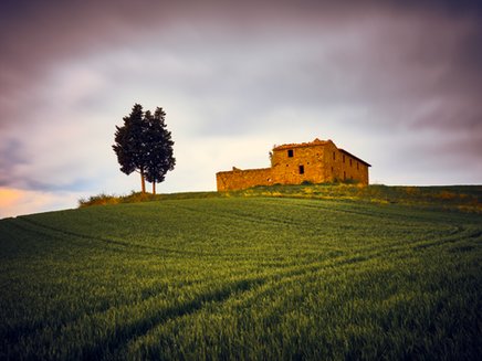 """""""Once Upon a Time on a Hill in Tuscany"""""""