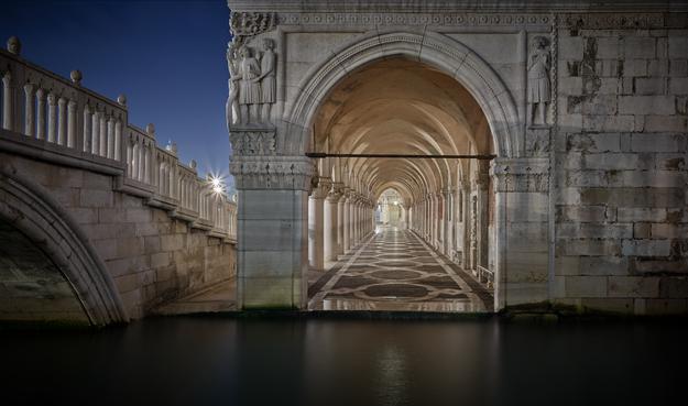 """""""Below Ponte della Paglia"""""""