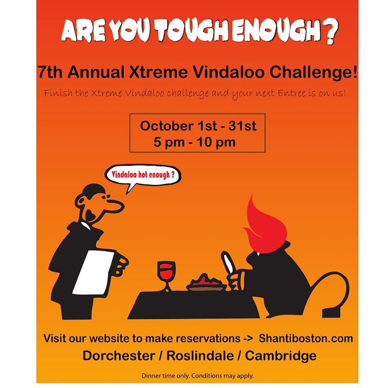 7th Annual Xtreme Vindaloo Challenge