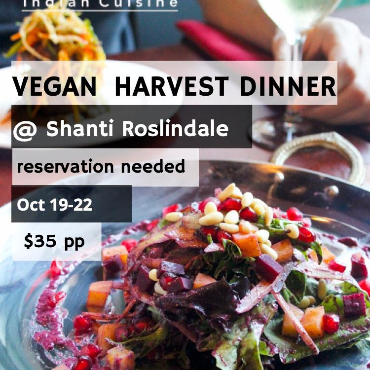 Vegan Harvest Dinner