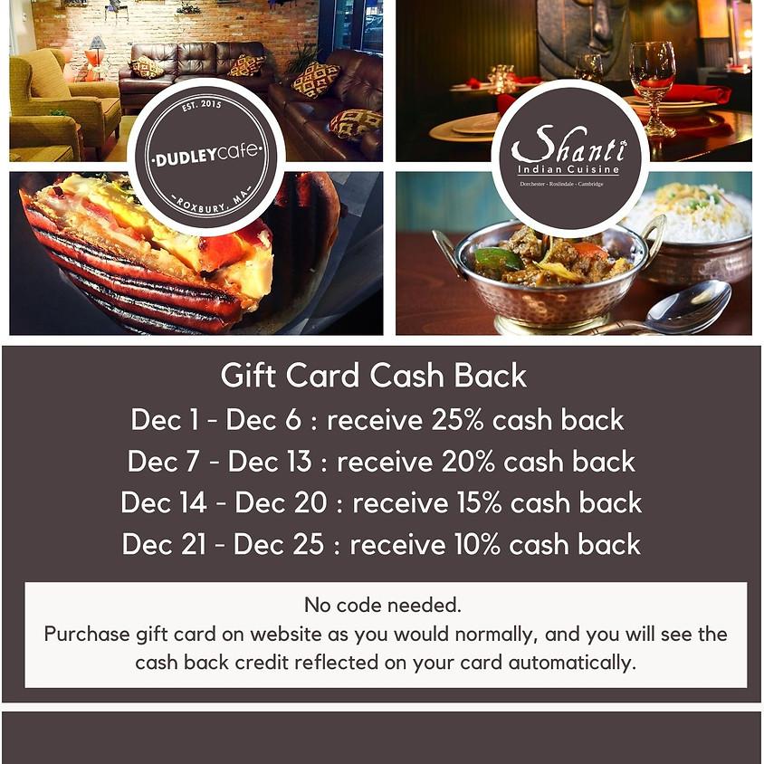 Gift Card Cash Back