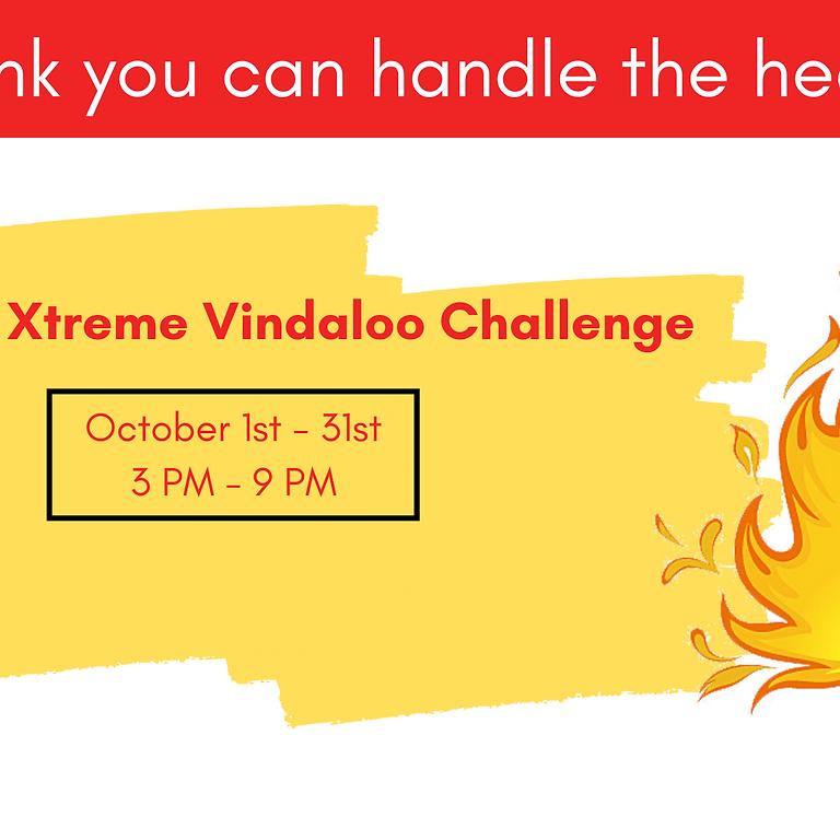8th Xtreme Vindaloo Challenge