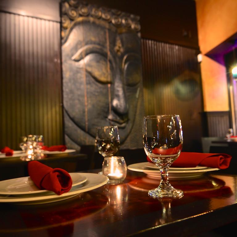 Dinner at Virtual Shanti