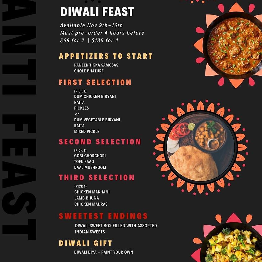Diwali Feast To-Go Menu