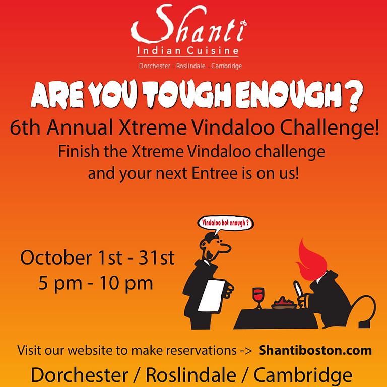 Xtreme Vindaloo Spicy Challenge