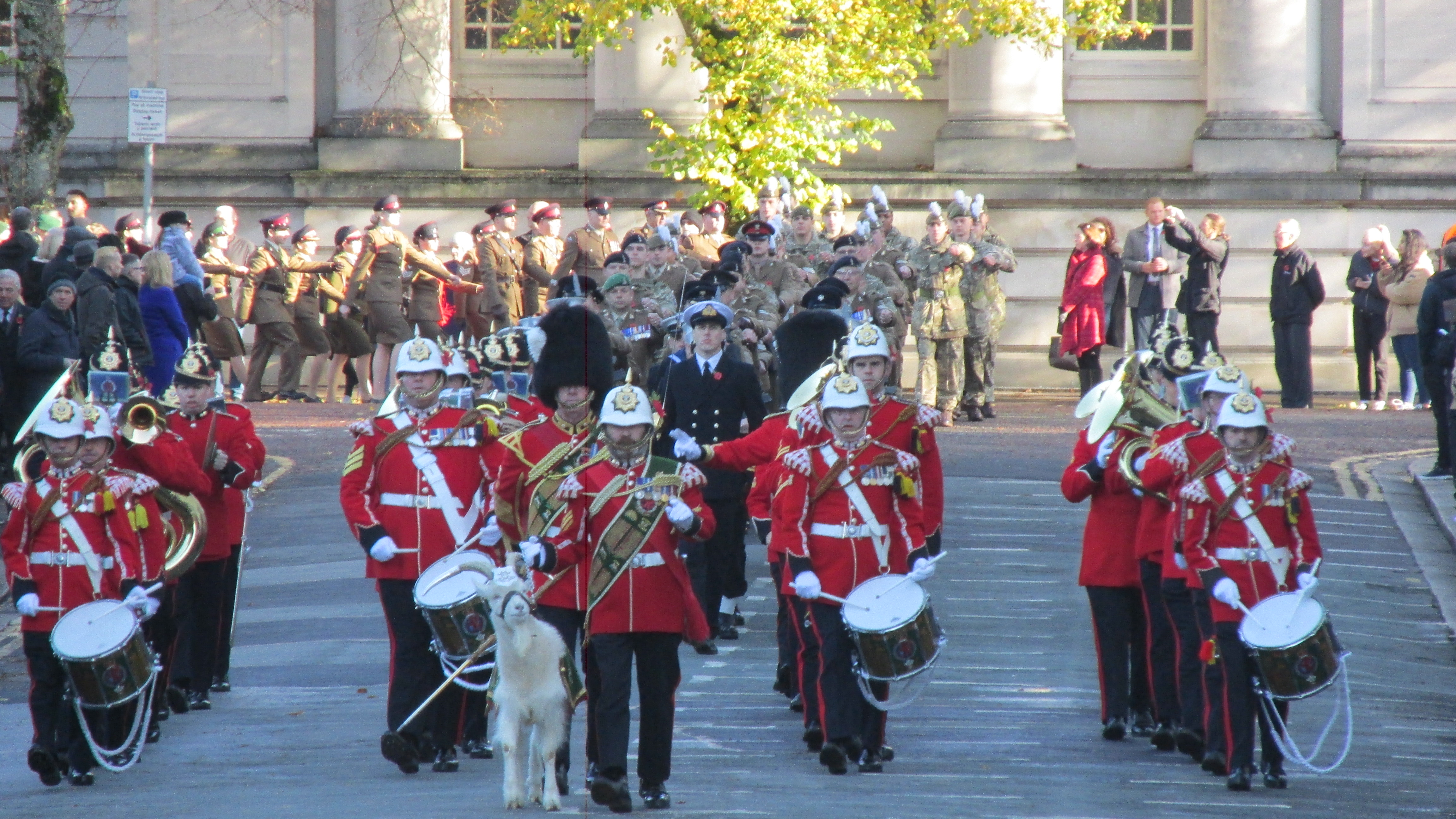 The Regimental Band and Corps of Drums of the Royal Welsh
