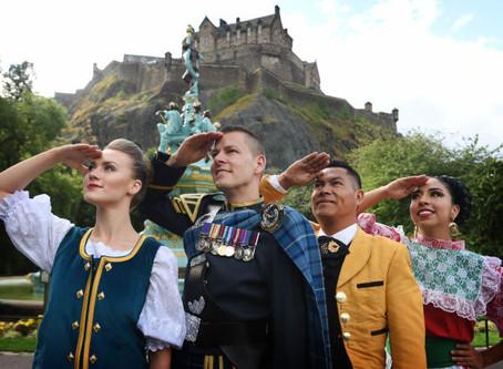 The Sky's The Limit at The 2018 Royal Edinburgh Military Tattoo