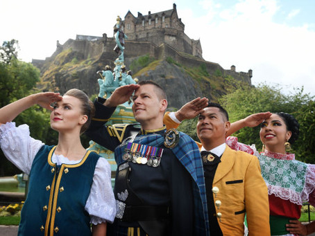 The Sky's The Limit at The 2018 Royal Edinburgh Military Tattoo