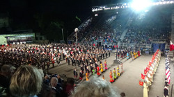 The Finale of the 2018 Tattoo