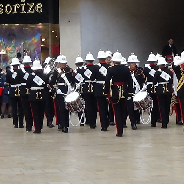 The Band of HM Royal Marines Plymouth