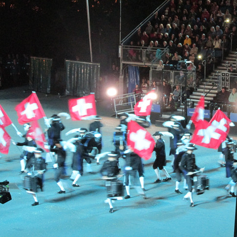 The Top Secret Drum Corps from Basel - the city of drummers