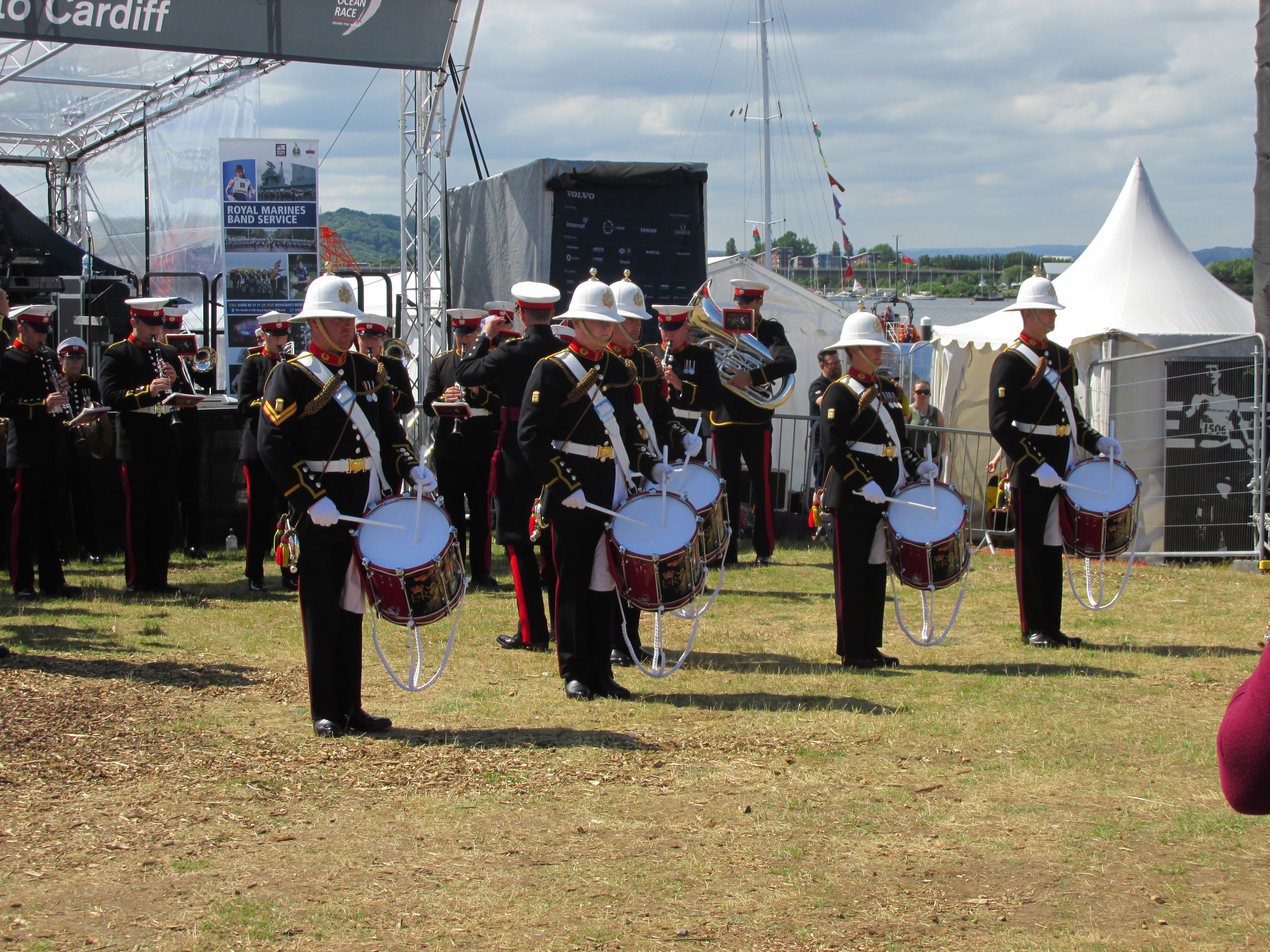 The Band of HM Royal Marines