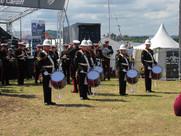 The Band of HM Royal Marines Commando Training Centre