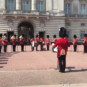 Military Bands support England's Football Team