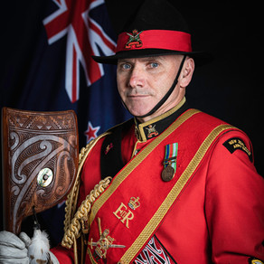 An Interview with Staff Sargent McCarthy, Drum Major of The New Zealand Army Band