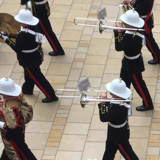 The Trombonists of The Band of HM Royal Marines Plymouth