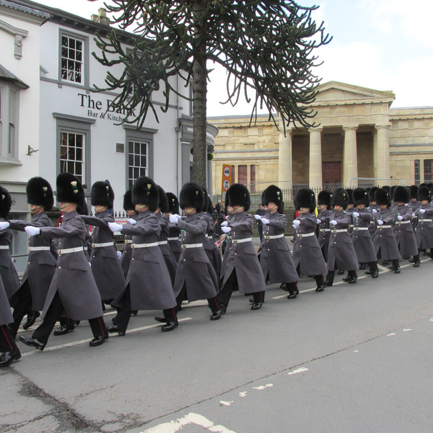 No2 Company, 1st Battalion Welsh Guards