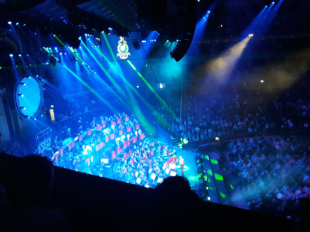 The Lighting Design during The Final Countdown at this year's MFM
