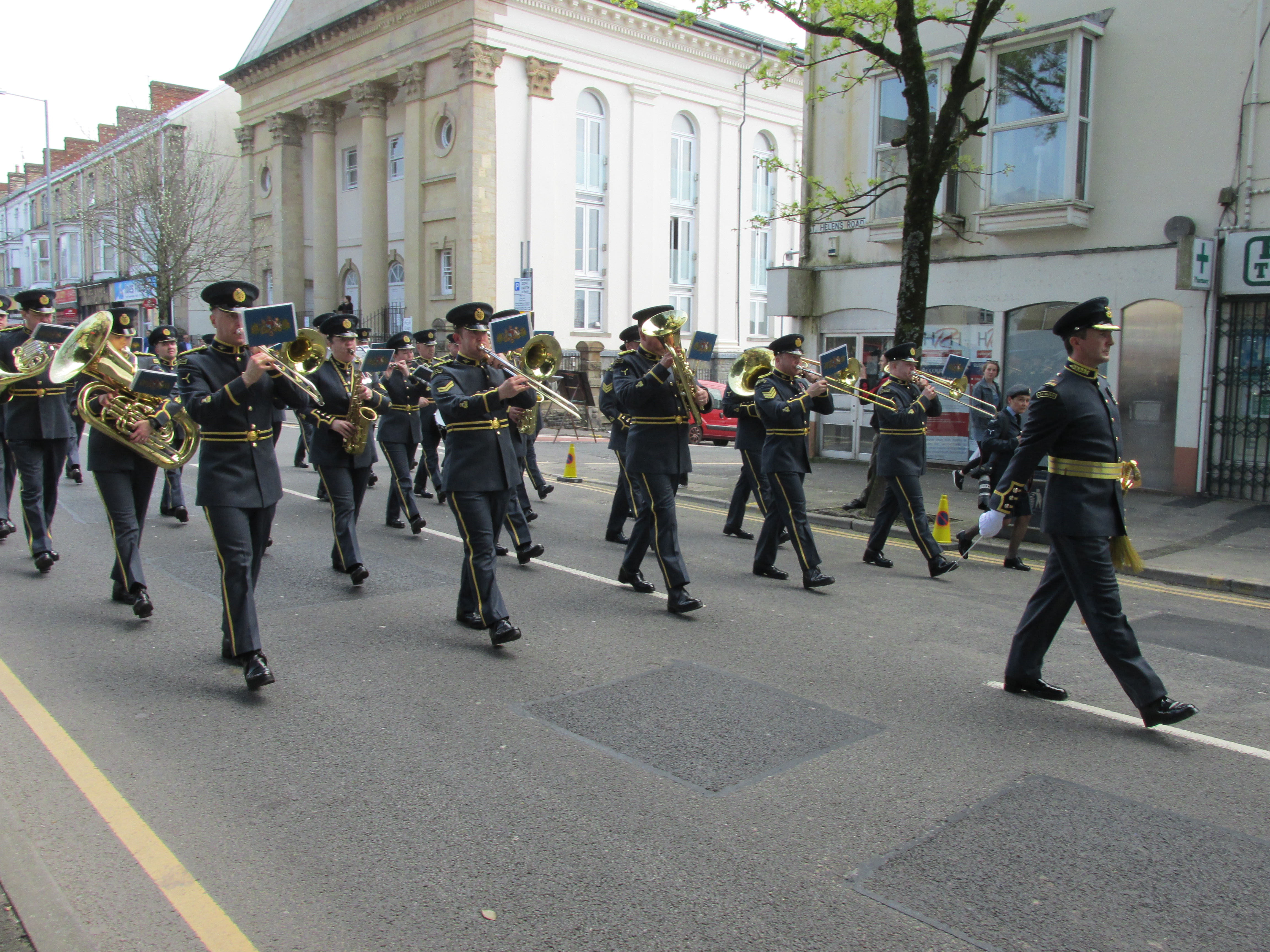 The Band of the RAF College
