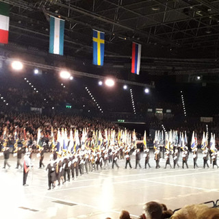 The Parade of the Massed Standard Barers