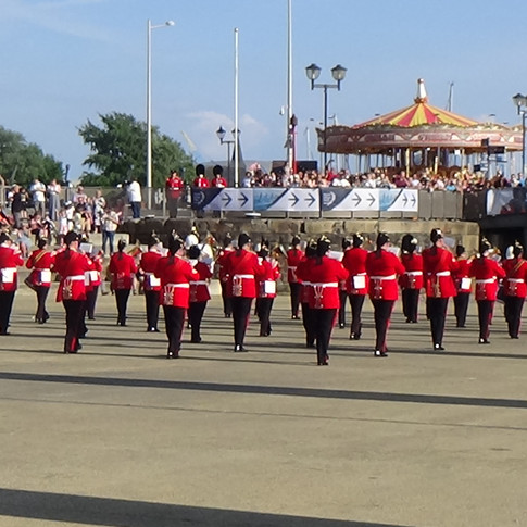 The Combined British Army Brass Band
