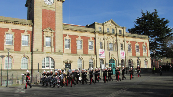 The Band of HM Royal Marines Commando Training Centre