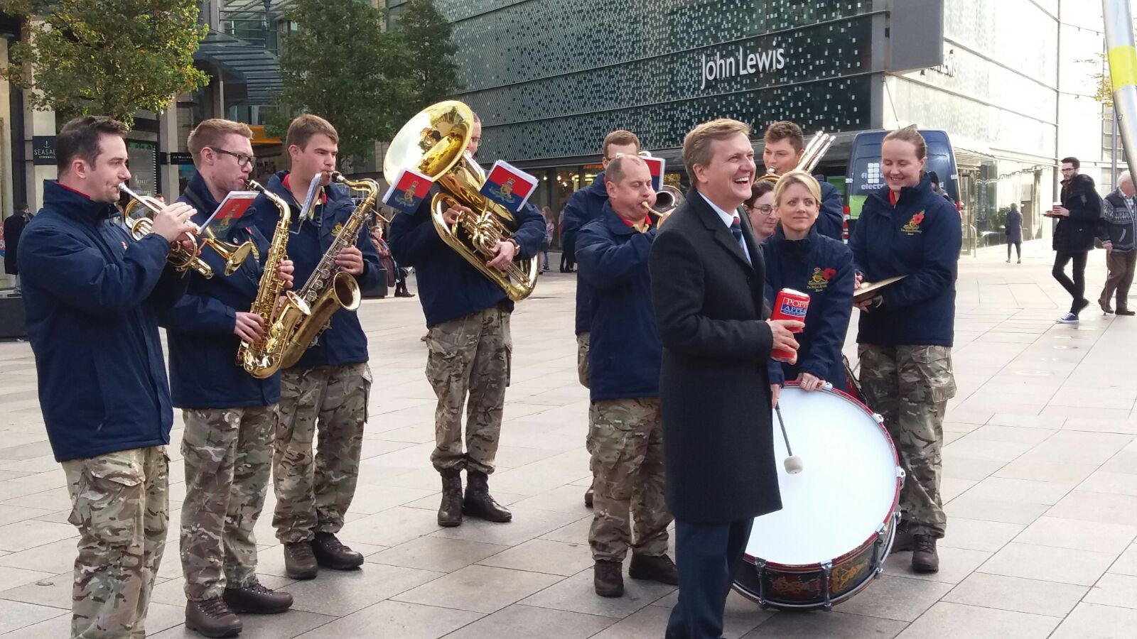 The Royal Artillery 'Big Brass'