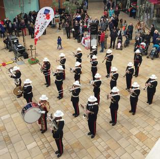The Band of HM Royal Marines Plymouth