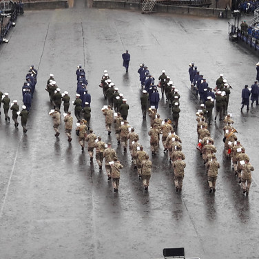 The Band of the RAF College, The Band of HM Royal Marines Plymouth and The Band of the Royal Regiment of Scotland