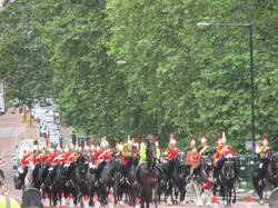 Mounted Band Changing the Guard
