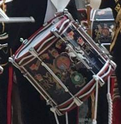 A Royal Marines Pearl Vicount Snare Drum