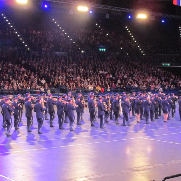 The irol Police Band from Austria