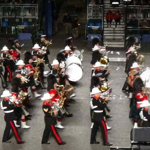 The Tri-service band