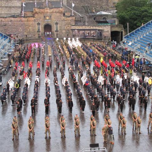 The Finale of the 2018 Royal Edinburgh Military Tattoo