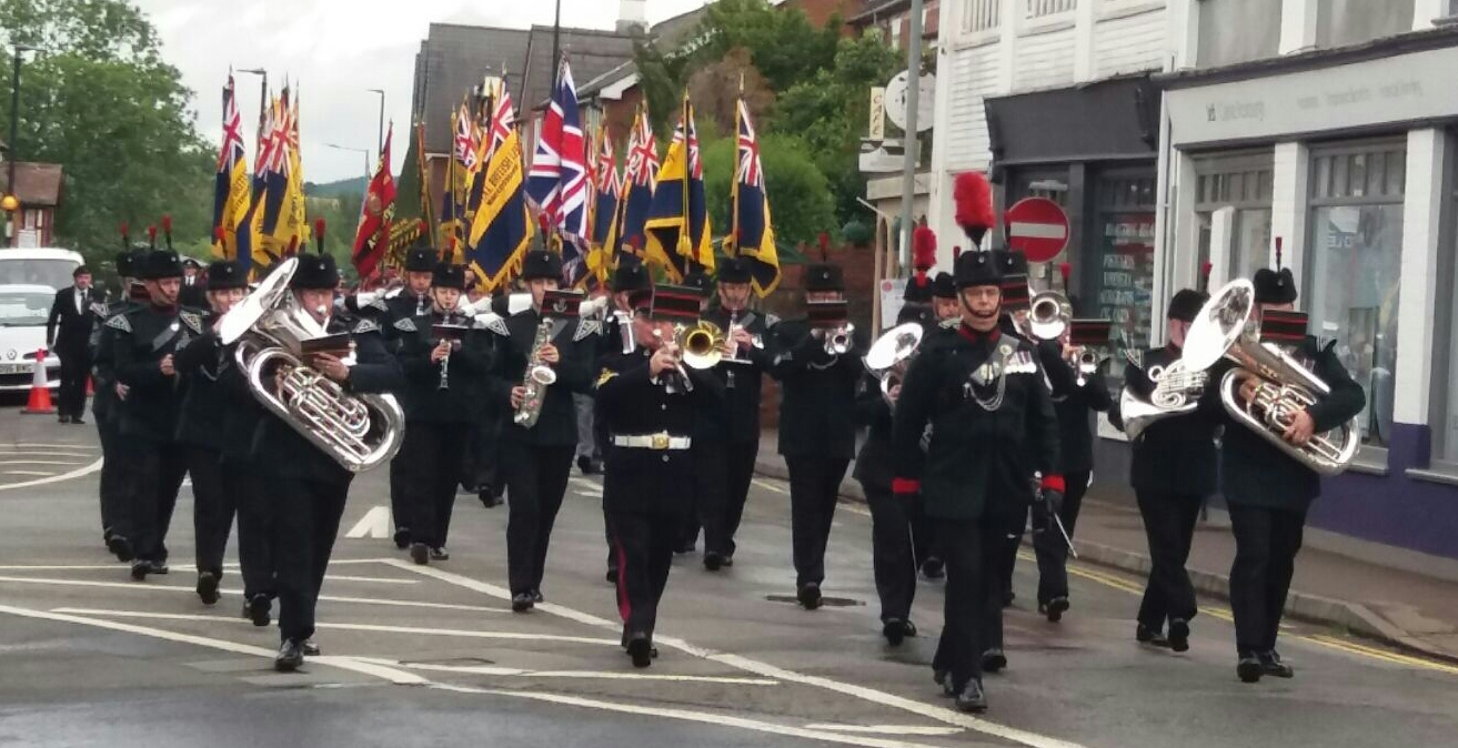 The Waterloo Band of the Rifles