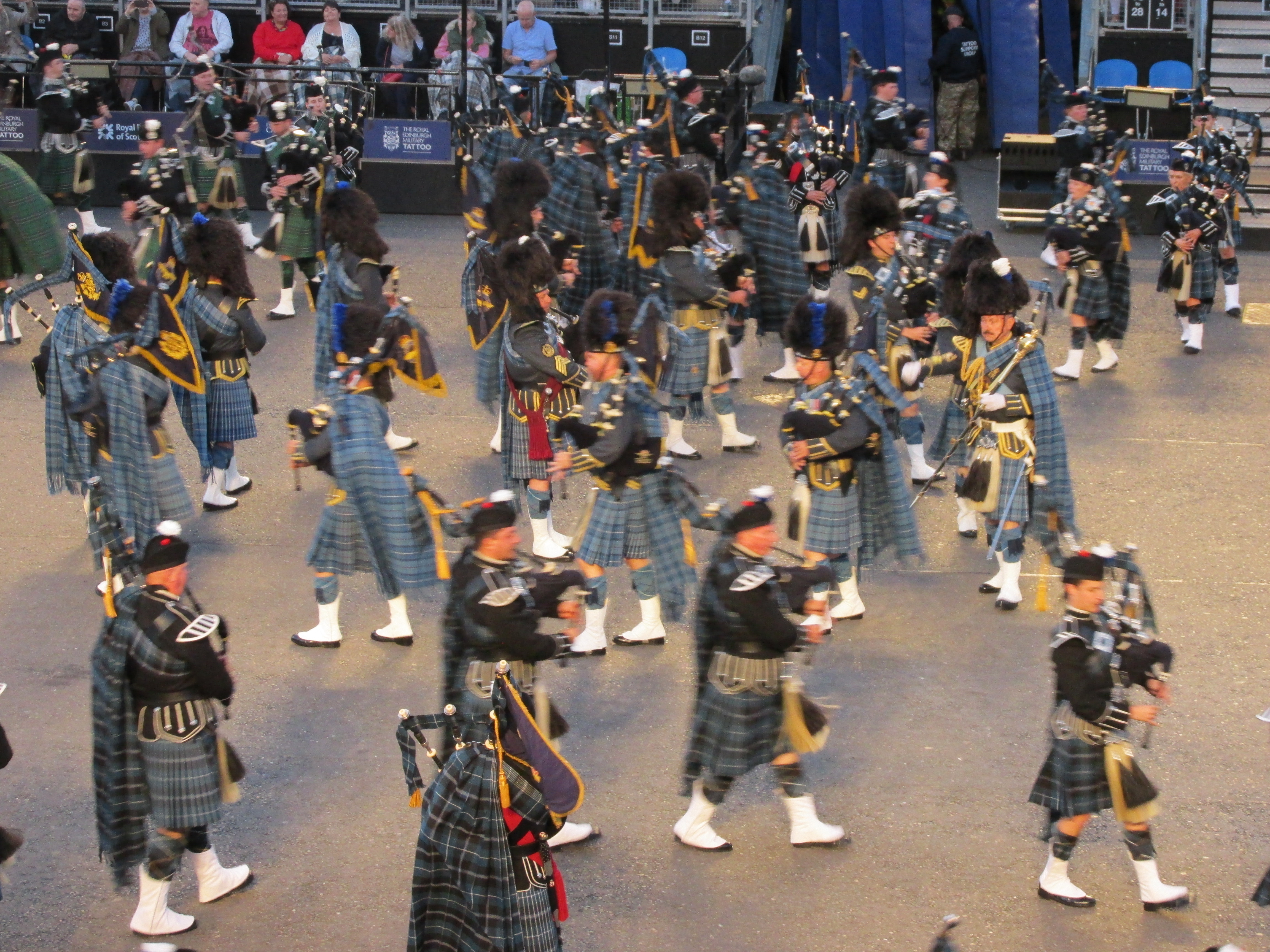The Massed Pipes and Drums