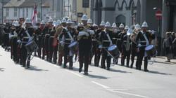 HMS Monmouth Freedom Parade