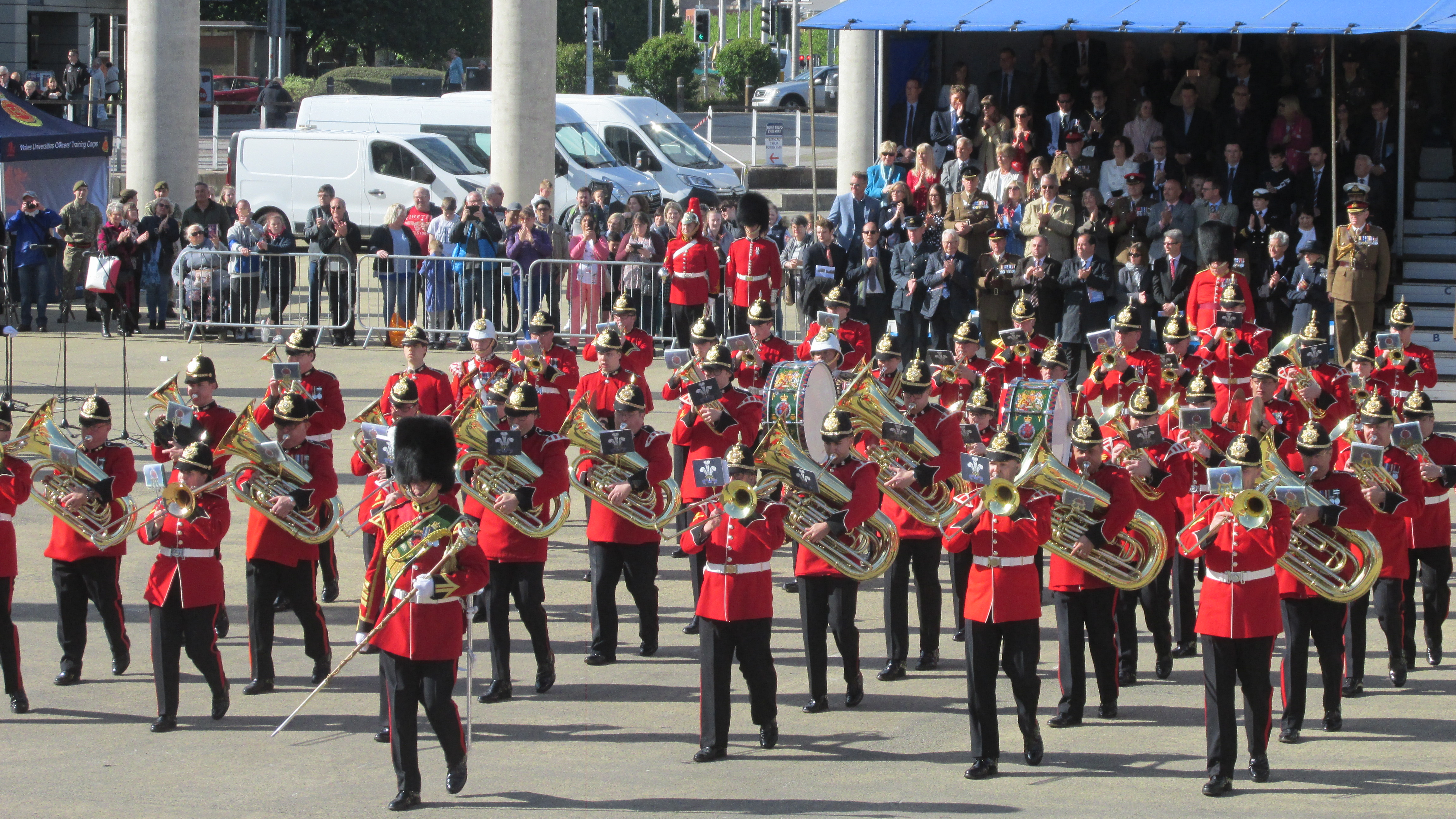 Combined Army Wales Brass Band