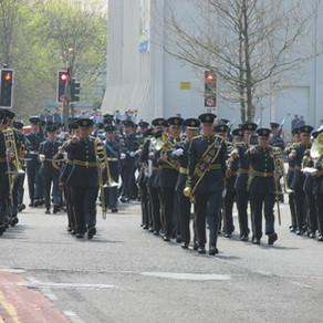RAF 100 Parade - Swansea
