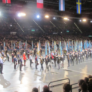 Accompanied by The National Youth Marching Band
