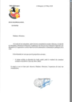 courrier maire isbergues dérogation retour aux 4 jours septembre 2018 rythmes scolaires
