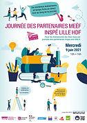 Affiche INSPE Lille HdF Journée des part