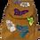 Thumbnail: Suedette Butterflies and Flowers Dark G