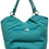 Thumbnail: Large Suedette Tote Bag - Turquoise