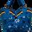 Thumbnail: Large Suedette Tote Bag - Blue